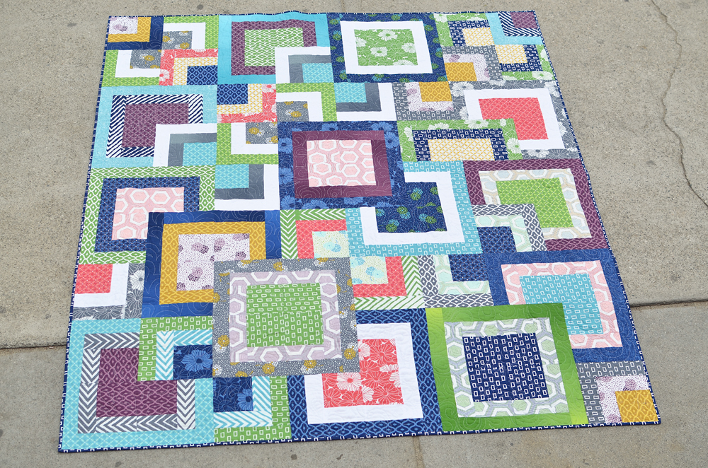 Simply Style Stacked Squares Quilt Â« Moda Bake Shop : photo quilt squares - Adamdwight.com