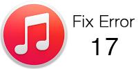 fix itunes error 17