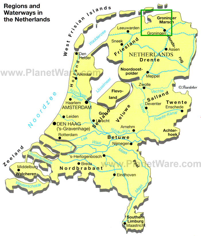 Netherlands Map Over Time