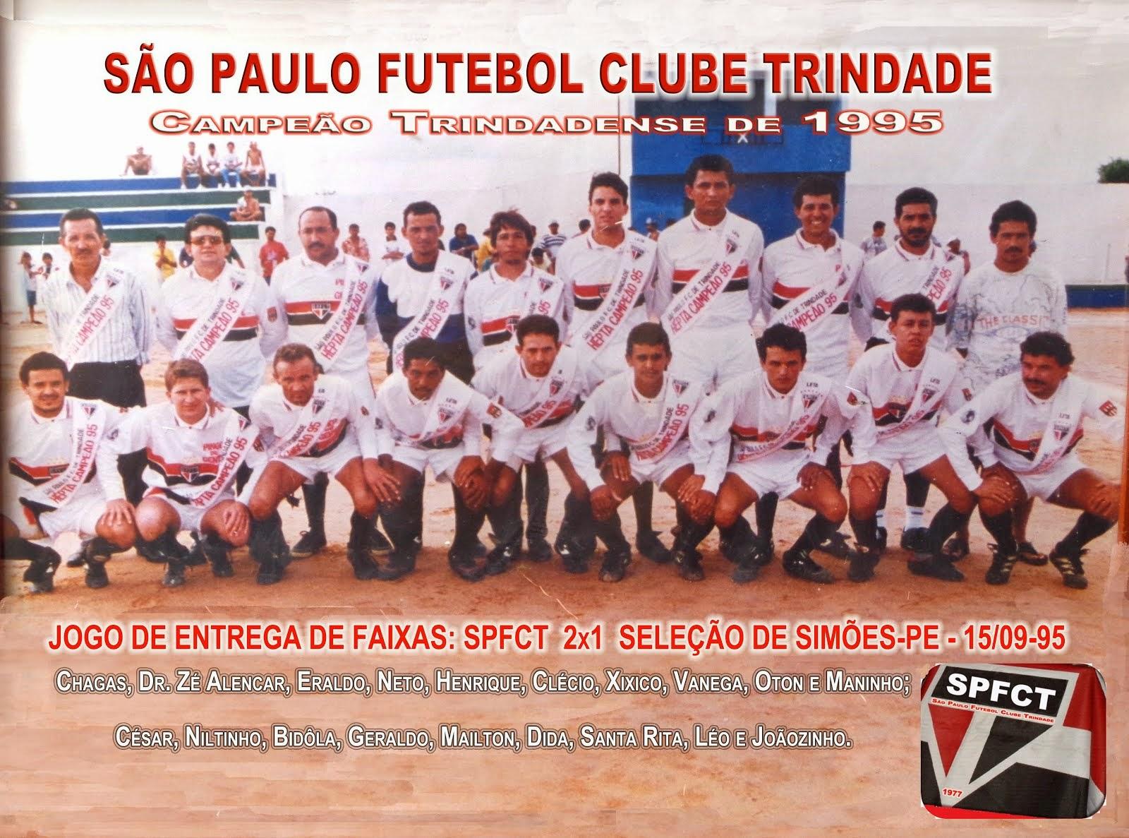 SÃO PAULO F. C. T.