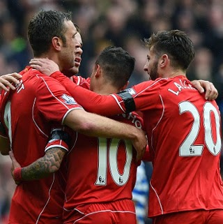 Video Gol Liverpool vs QPR 2-1