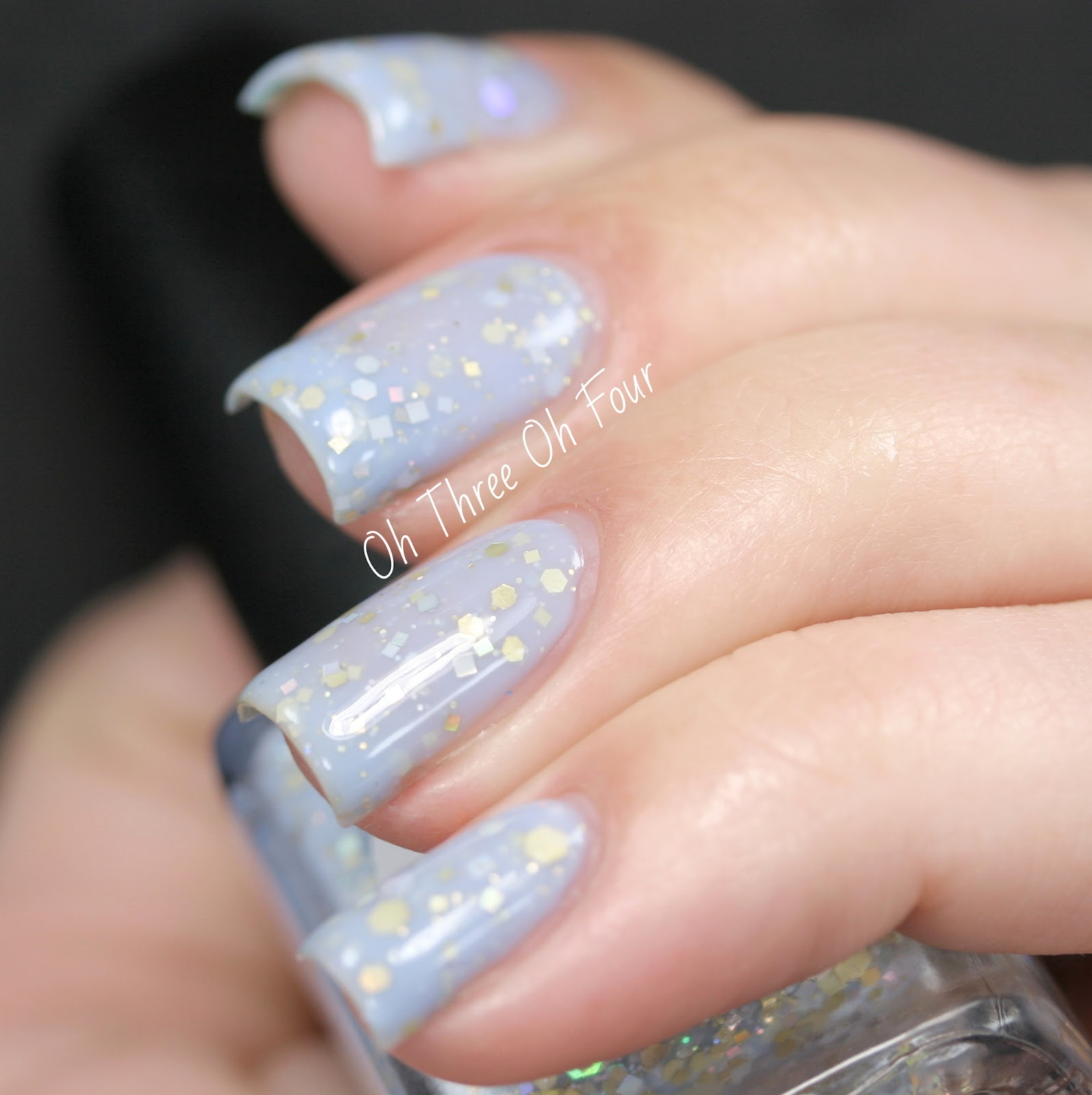 Rain City Lacquer Moonlit Waves swatch