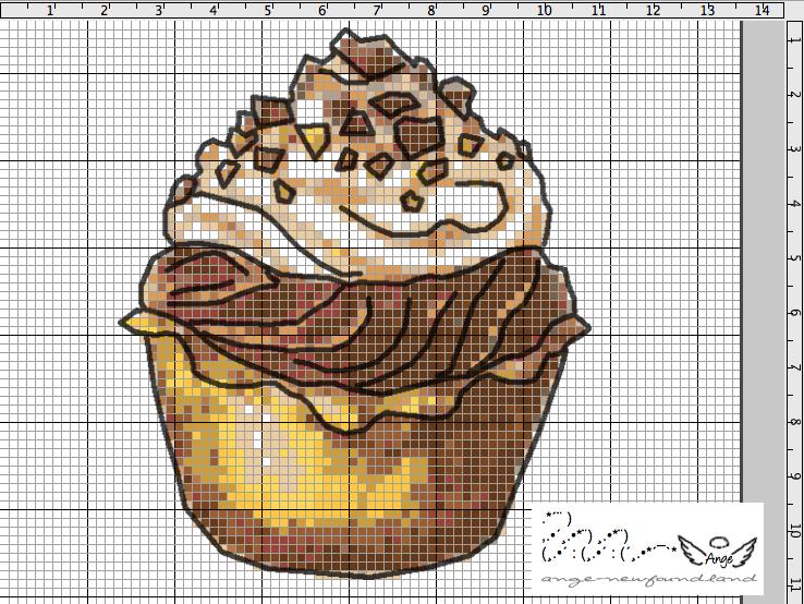 Croix1 Cupcake-grille-gratuite-Point.
