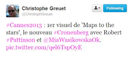 Cannes 2013 Tweet