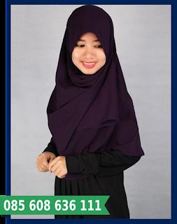 jilbab segi empat modern dan modis