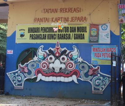 objek wisata di jepara,Jalan jalan ke Pantai Kartini Jepara
