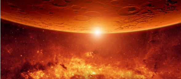 Descubren misteriosa nube en Marte