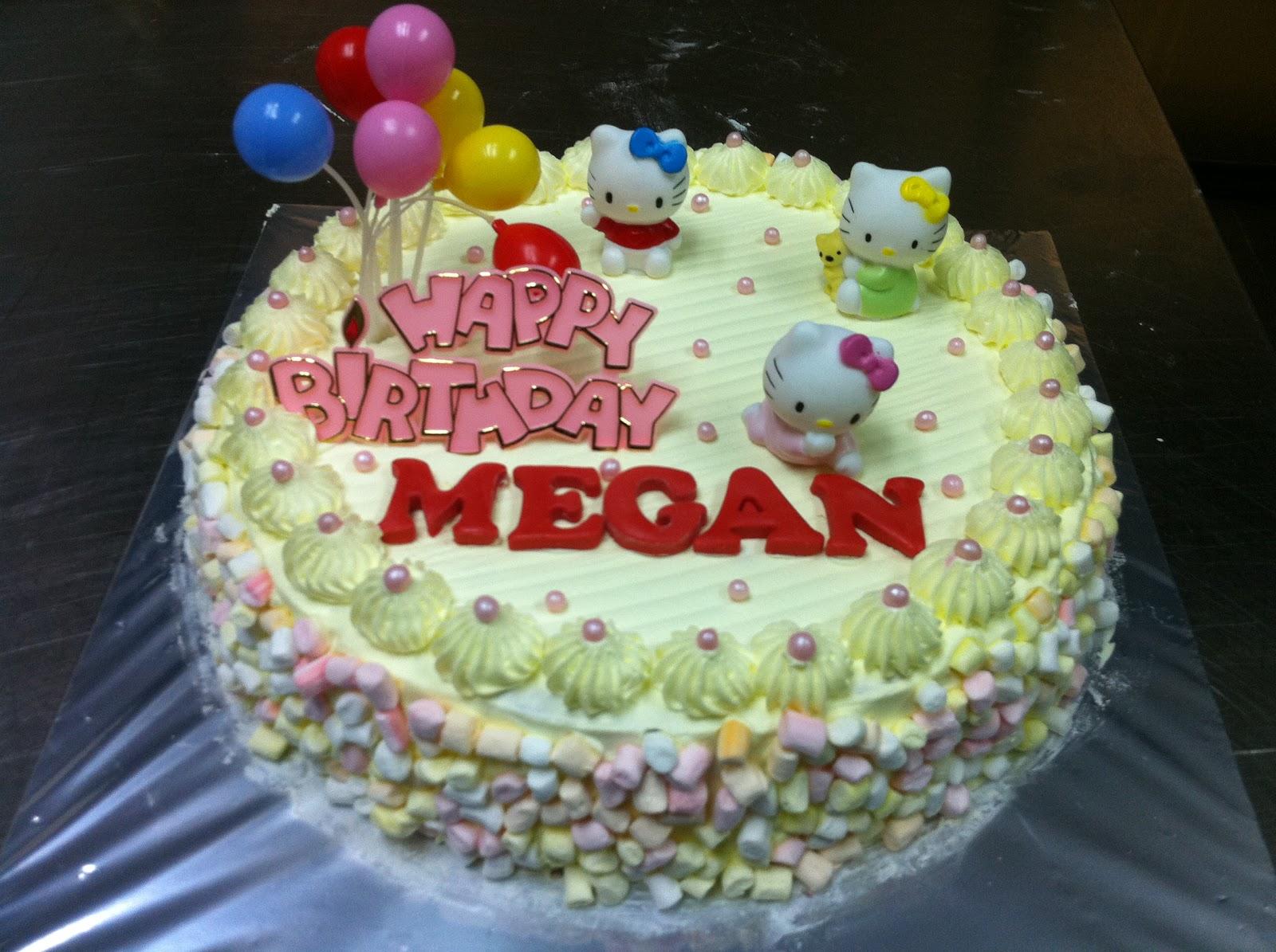 Haven Bakery Megan Hello Kitty Birthday Cake