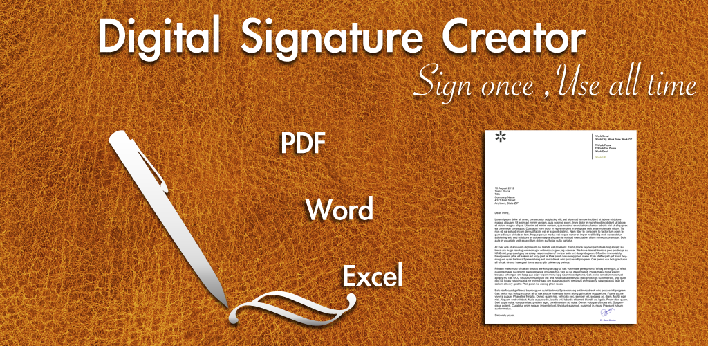 Digital Signature Creator (Free)