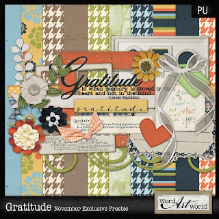 New Freebie, $2  CU OK Grab Bag + New Products from Word Art World!