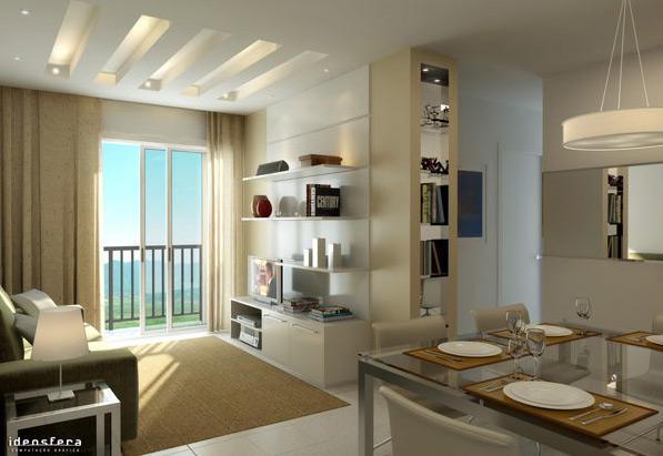Sala De Jantar Em Gesso ~ arte de decorar Abajur e Lustres para sala de jantar e estar