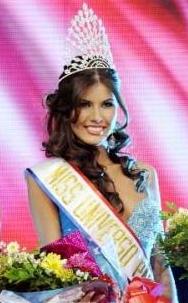 miss universe universo paraguay 2011 winner alba lucia riquelme valenzuela