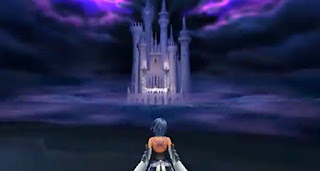 kingdom hearts birth by sleep volume 2 aqua castello sogni
