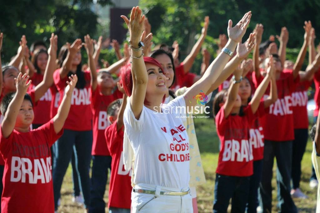 "Jamie Rivera sings Papal Visit 2015 Official Theme Song ""We Are All God's Children"""