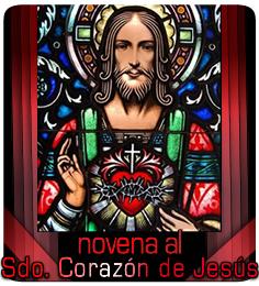 Novena al Sdo. Corazón de Jesús