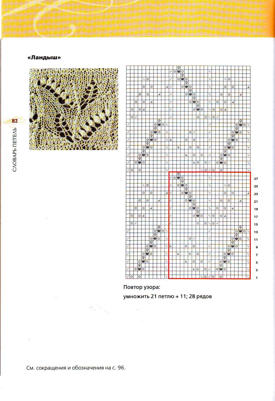 Палантин схемы вязания паутинка