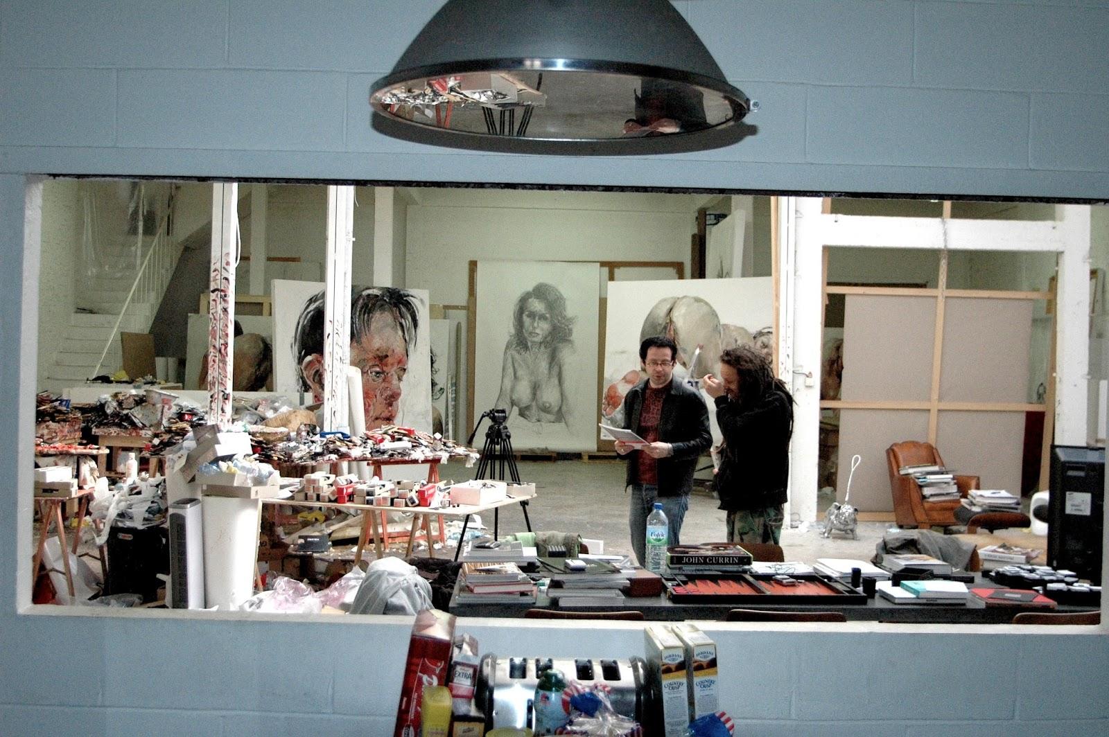 Sylvain desmille film ateliers d 39 artistes un - Atelier artiste peintre ...