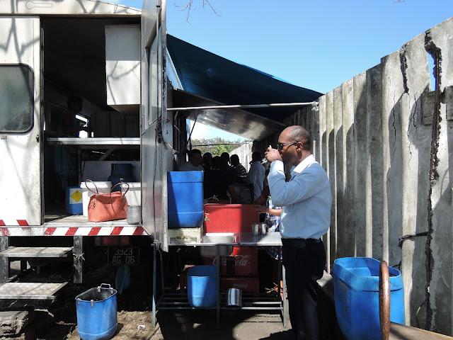 Solitude Food Truck, Mauritius, Roti, food truck