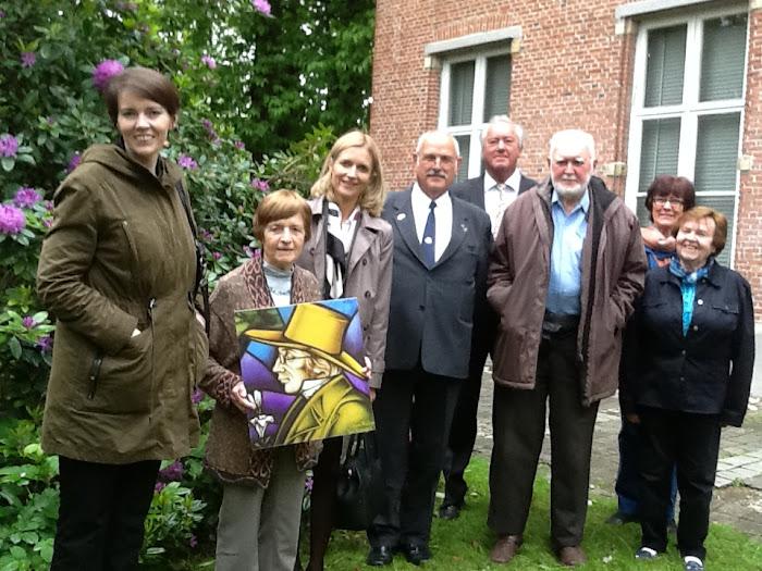 Bezoek Ambassadeur Denemarken aan onze Werkgroep op 19 mei 2015