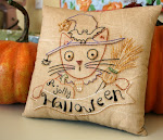 FREE Halloween stitchery pattern!