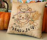 FREE Halloween stitchery pattern!