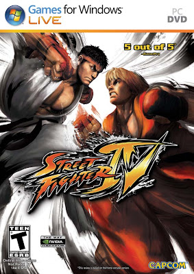 Street Fighter IV PC Cover