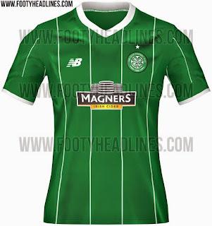 jaul online baju bola Jersey Celtic away terbaru musim depan 2015/2016