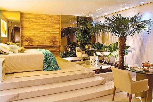 Designer de Interiores Ambientes diversos ~ Quarto Casal Decorado Rustico