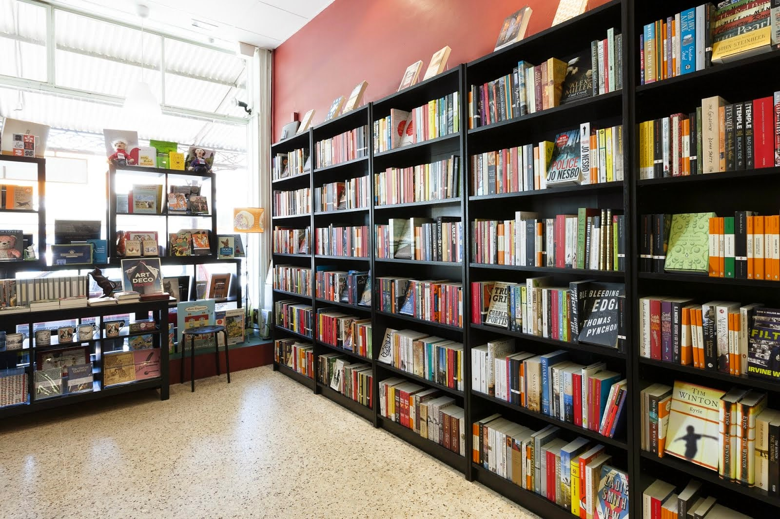 We are a small, local bookstore located in the heart of North Melbourne