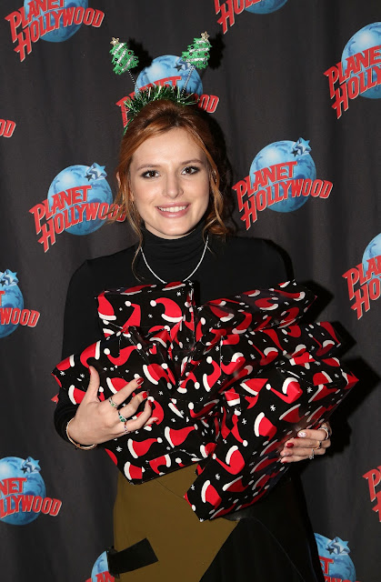 Actress, Singer, Model, @ Bella Thorne - Planet Hollywood Times Square in NYC