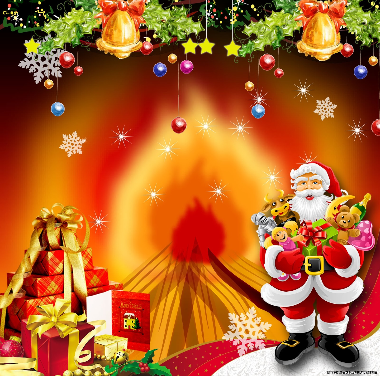 Download HD Christmas & New Year 2017 Bible Verse Greetings Card & Wa...