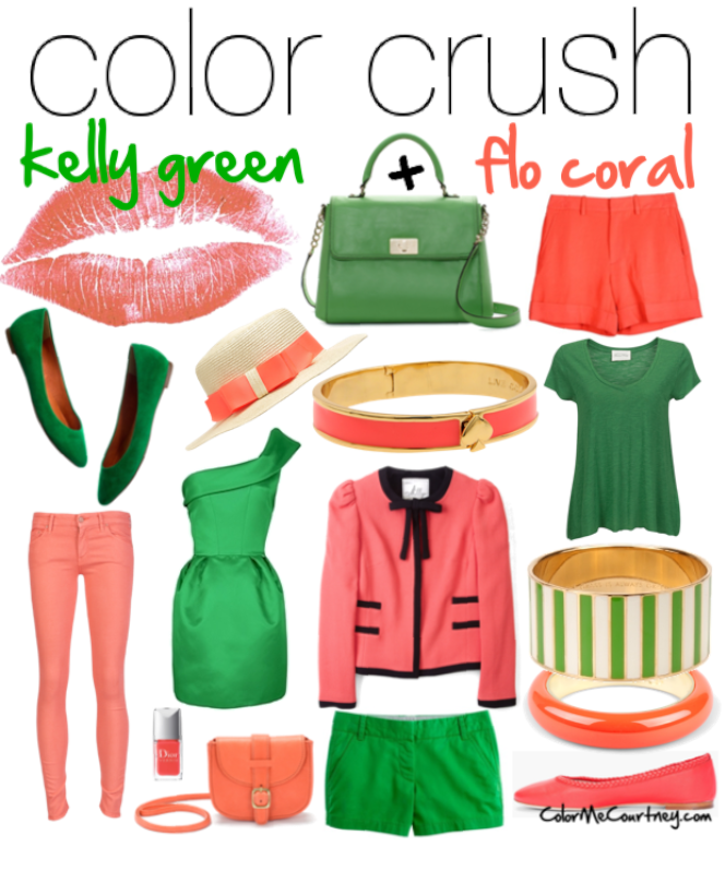 Coral Crush Color Images