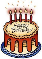 Birthday cake, my birthday wish