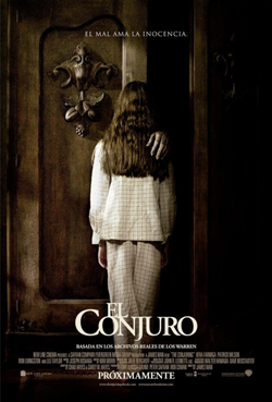 The Conjuring 2013 poster
