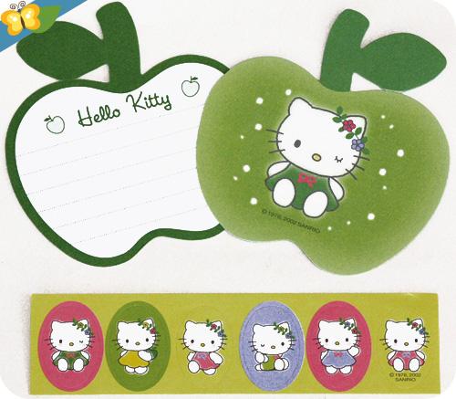 set de papier à lettre Hello Kitty