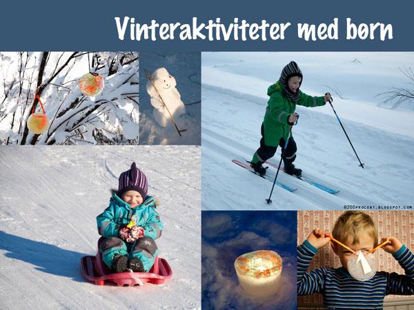 børn aktiviteter januar