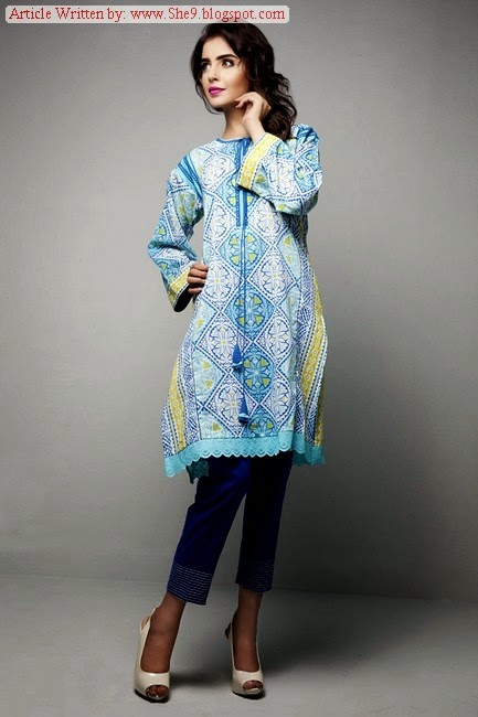 Bonanza Satrangi Midsummer and Eid ul Azha Collection 2014