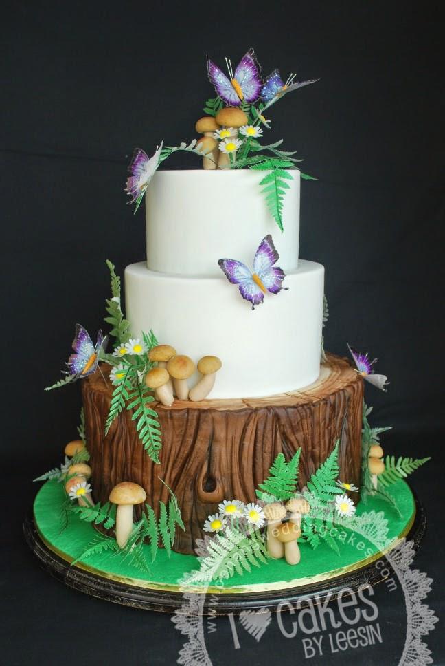 Beutiful Ethereal Cake