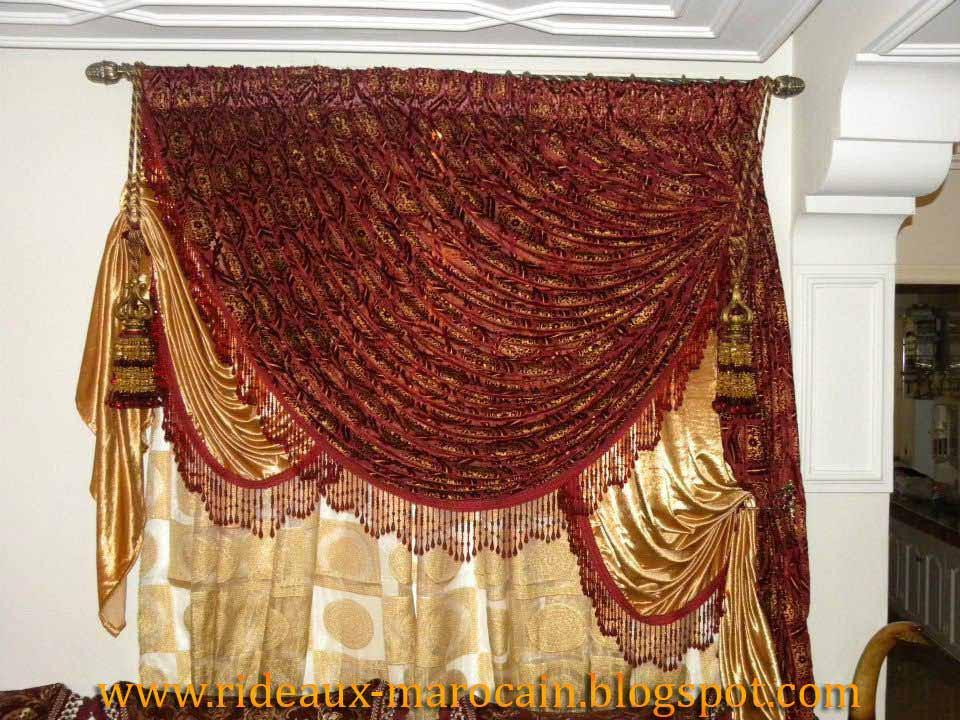 rideaux marocain rideau fen tre dernier mod le. Black Bedroom Furniture Sets. Home Design Ideas