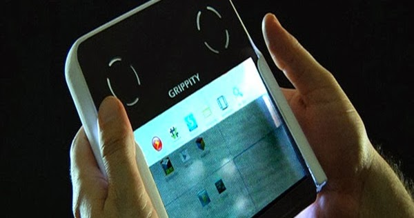 FunkiRide: New Grippity Tablet With a Transparent Screen