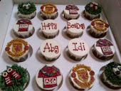 man u cupcakes
