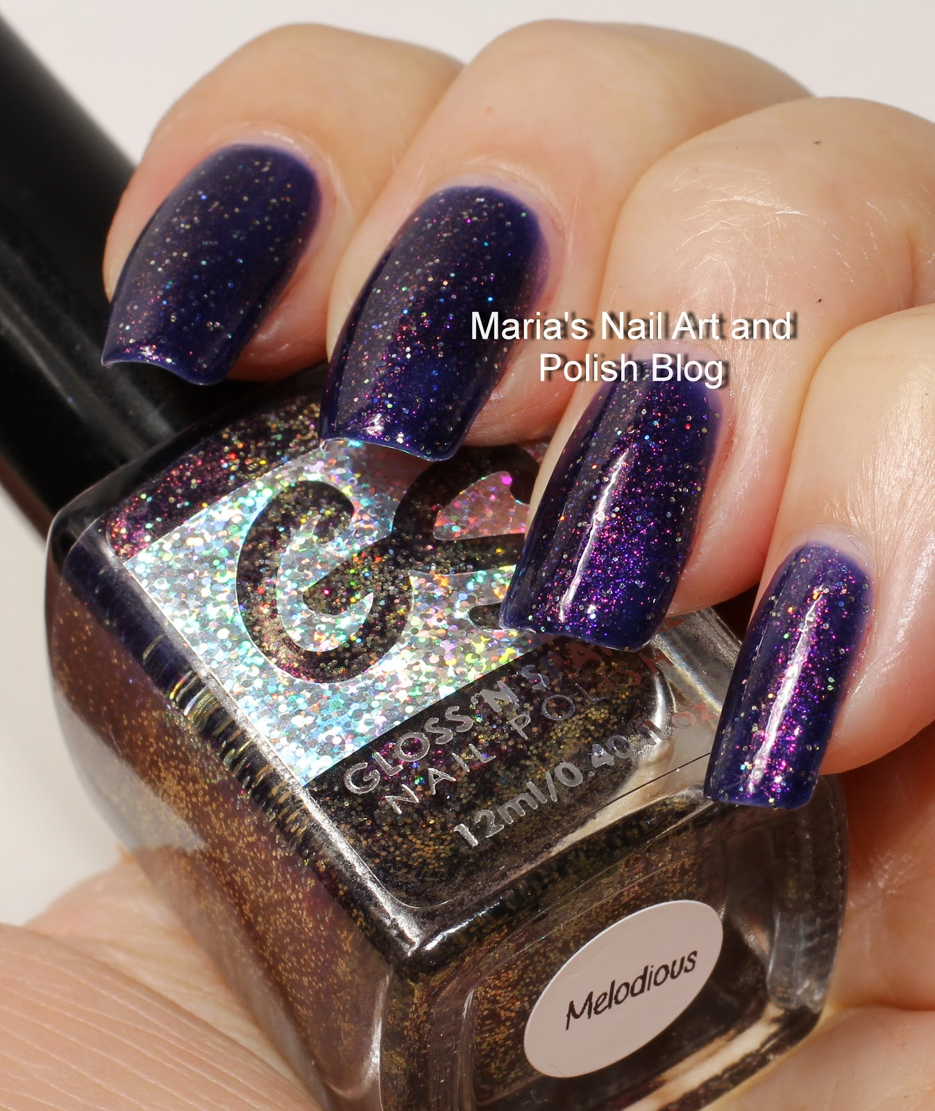 Marias Nail Art And Polish Blog Flushed With Stripes And: Marias Nail Art And Polish Blog: Gloss 'n Sparkle