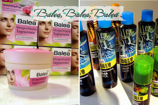 dm-Marken Camp Beauty Barcamp 2013 - Balea Produkte