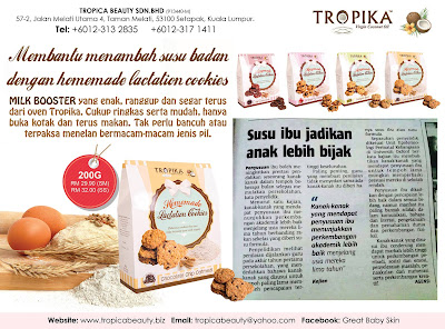 Testimoni Homemade Lactation Cookies