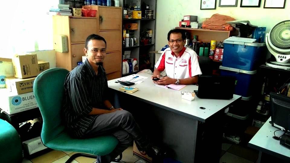 Khir Khalid bersama En Muhammad Aziz, Suria NGV