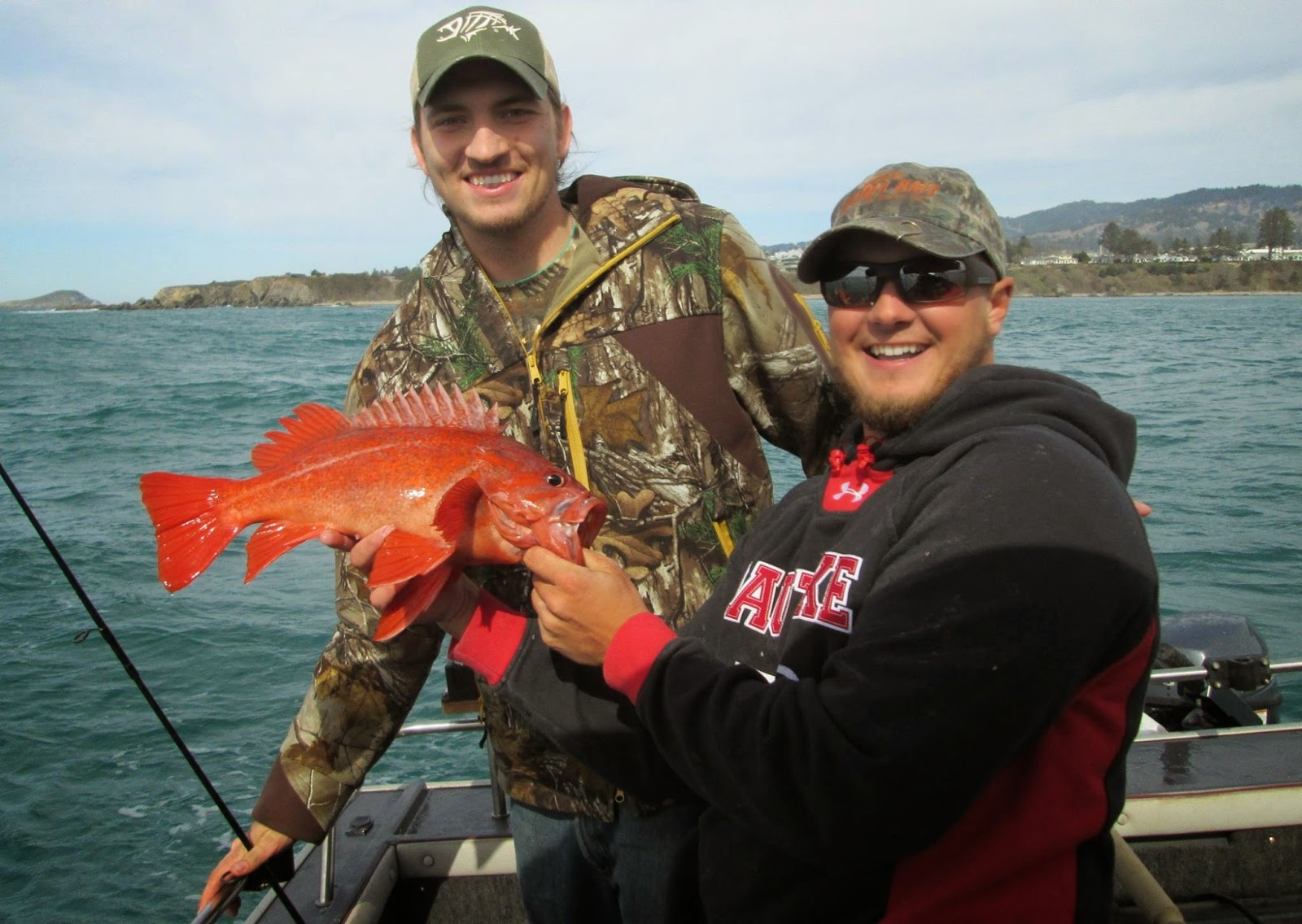 Brookings oregon fishing charters march 2015 for Brookings fishing charters