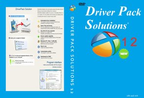 DriverPack Solution 12.12.309 + Driver Packs 13.02.3 dvd   cover driver pack solution 12 by wilson646 d4wd04q