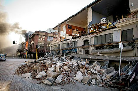 Gempa Selandia Baru