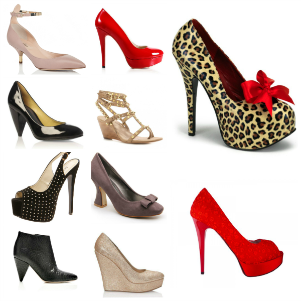 The Different Types Of Heels