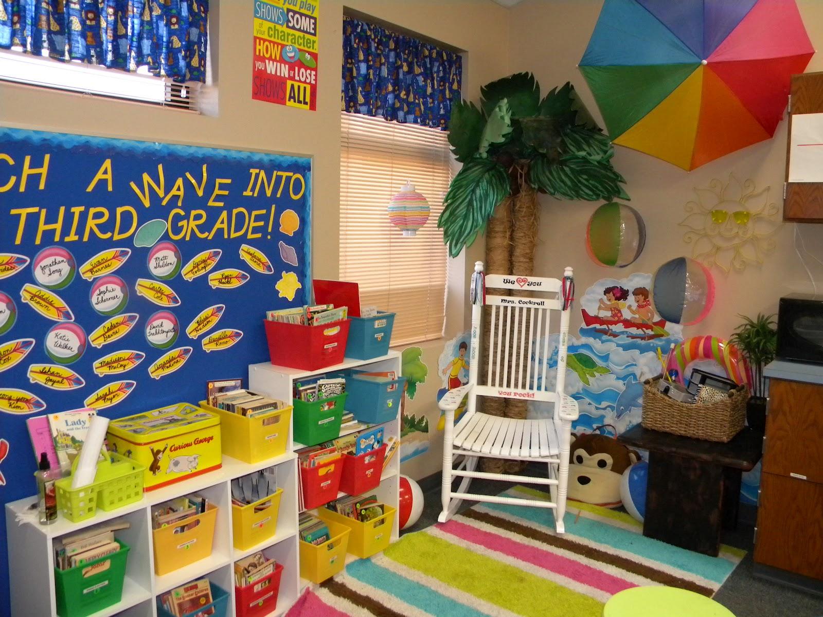Classroom Theme Ideas For 3rd Grade ~ Teach on past classroom pics